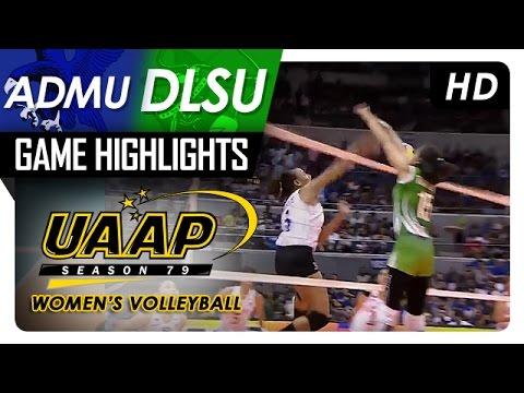 ADMU vs DLSU | Game Highlights | UAAP 79 WV | April 8, 2017
