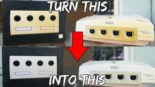 Nintendo Gamecube & Sega Dreamcast Restoration (How To Remove Yellowing From Video Games & Sneakers)