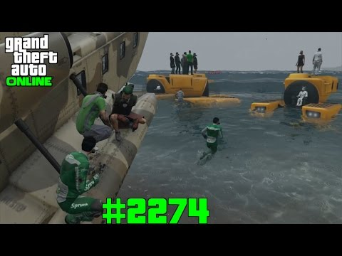 Die Crew geht mal tauchen #2274 GTA 5 ONLINE YU91