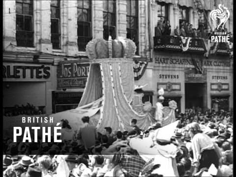 New Orleans Mardi Gras 1947 Youtube