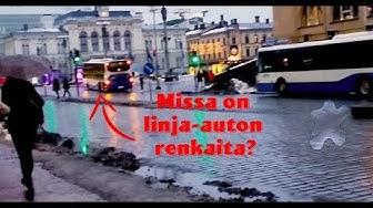 Tampere Keskusta Linja-auton renkaita kesken ajon 28.10.2017
