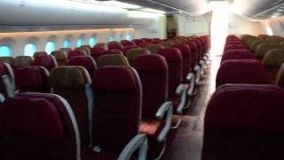 Air India 787-8 Dreamliner Cabin Walk-through