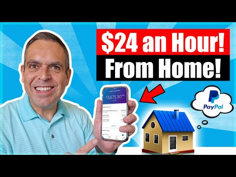 🔥 Earn $24 per Hour/ Work From Home Jobs Anyone Can Do! (PayPal Money)
