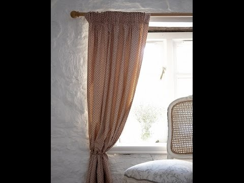 How To Sew Your Own Curtains By Hand Nice Houzz