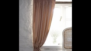 Sewing a simple lined curtain by Debbie Shore