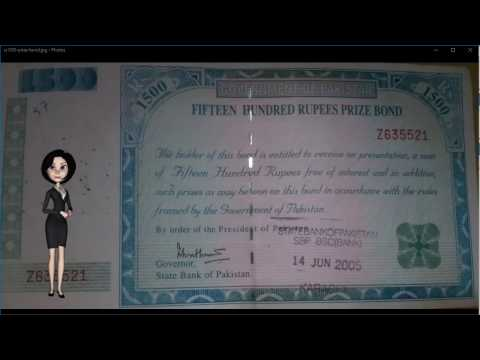 1500 Rupees Prize Bond Explained - Invest, Earn Money in Pakistan