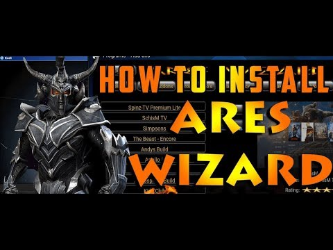 Download Ares Wizard Kodi [Latest] for Kodi Player 17 6