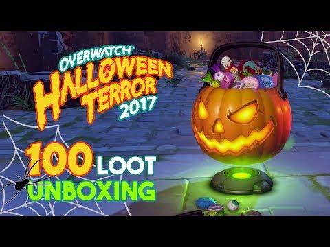 Overwatch | Halloween Event 2017 | 100 Loot Box Opening