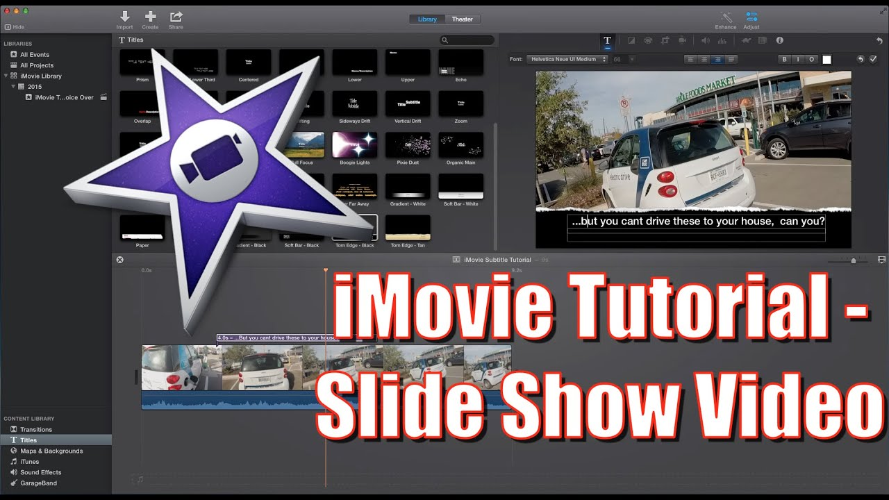 how to make a slideshow video