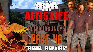 Arma 3: Altis Life │ The Ron Burgundys │ Part 48 │