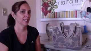 Ganhe dinheiro com bolsas de tecidos feita de retalhos – Passo a passo