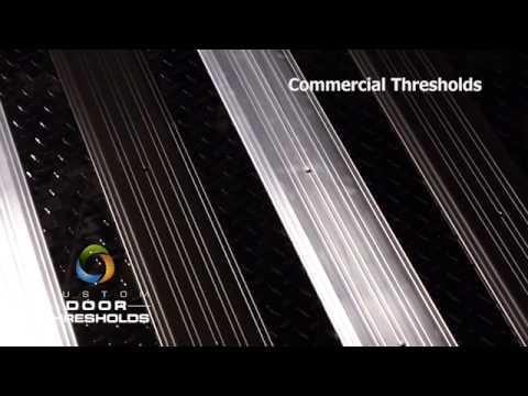 Commercial Door Threshold Youtube