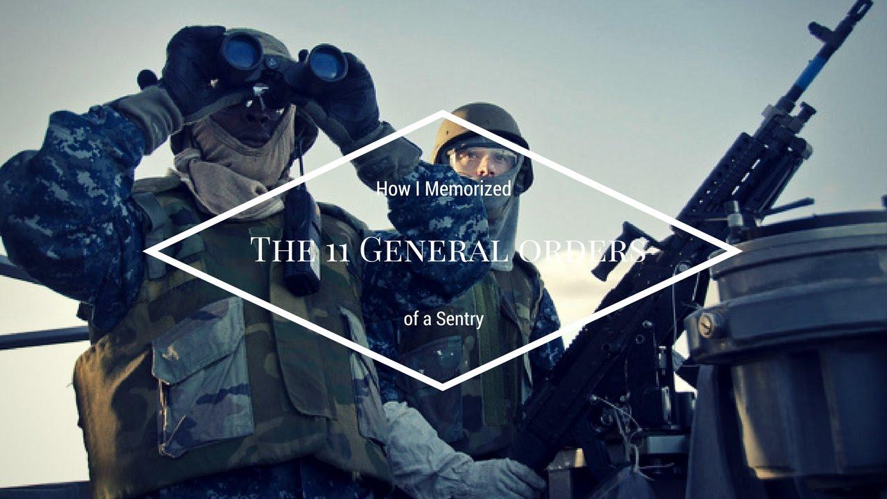 eleven general orders