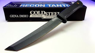 НОЖ САМУРАЯ RECON TANTO - моя новая КАТАНА! 💥Реальный отзыв о COLD STEEL