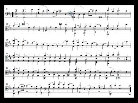 J. S. Bach Cello Suite n. 6 BWV 1012 - 4. Sarabande - Piano Transcription [tbpt8]