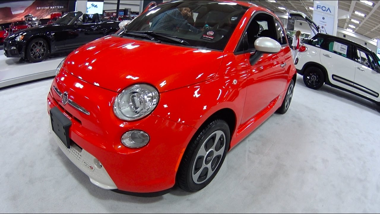 2017 Fiat 500e Electric Motor Show Take Review