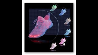 Shinmax Fiber Optical Rechargeable Light Up Shoes