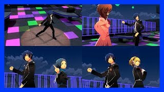 Persona 3: Dancing Moon Night (JP) - Brand New Days (Yuyoyuppe Remix) [Video w/ All Partners]