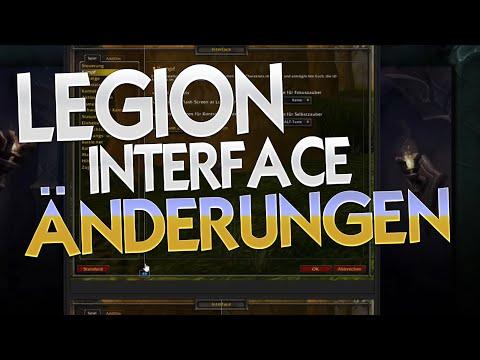 Änderungen am Interface mit Legion ★ Warcraft   WoW ✗