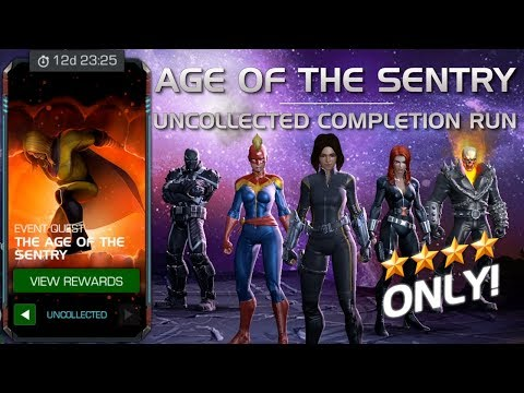 The Age of the Sentry: Full Uncollected Completion Run w/ Cut Scenes | Marvel Contest of Champions