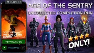 The Age of the Sentry: Full Uncollected Completion Run w/ Cutscenes | Marvel Contest of Champions