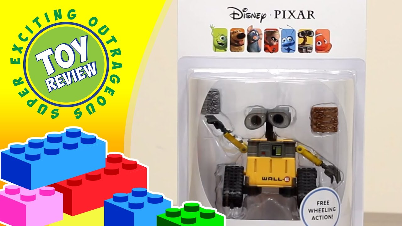 Disney Pixar Cube n Stack Wall E by Thinkway Toys Toy Review