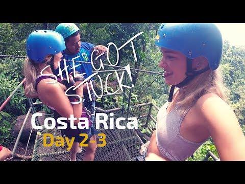 ZIPLINING IN THE RAINFOREST! | Travel Vlog (Costa Rica)