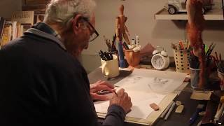 A short film Featuring my Sweet and talented Grandpa at work