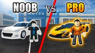 NOOB vs PRO (Roblox Vehicle Simulator) Ft. Darzeth