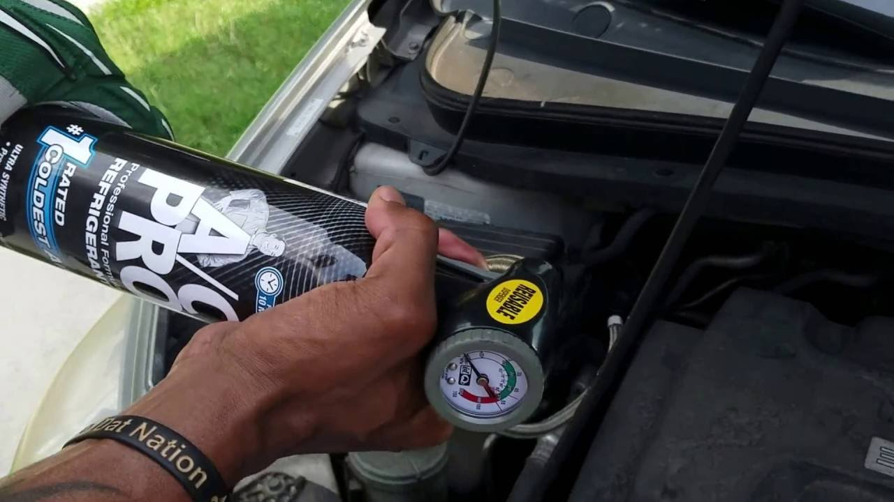 How To Recharge Ac On Honda