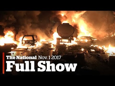 The National for November 1st: Catastrophic accident, NYC attack suspect, First Nations housing
