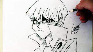 Como Desenhar o Seto Kaiba [Yu-gi-oh!] - (How to Draw Kaiba) - SLAY DESENHOS #180