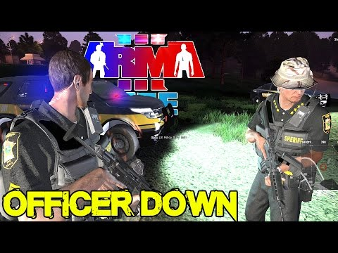 Arma 3 Life - Super Troopers - Officer Down - Day 33