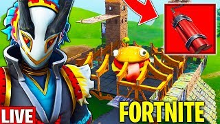 UPDATE FORTNITE!! NEW SKIN, TELETRANSPORT at BUNKER and NEW TNT💣 🔴Fortnite live