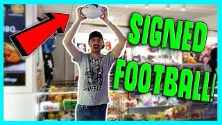 I Won a Signed Patriots NFL Football at Zao Island Arcade! ArcadeJackpotPro