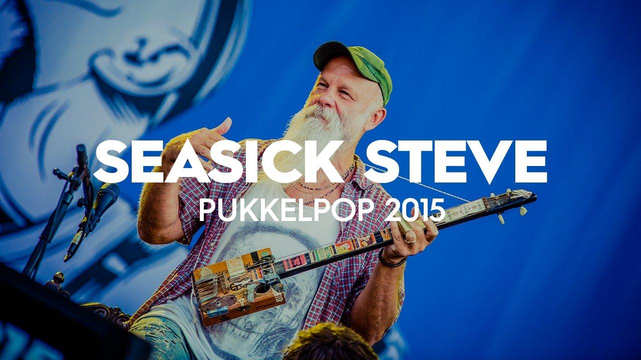 Pukkelpop: Seasick Steve // Pukkelpop 2015