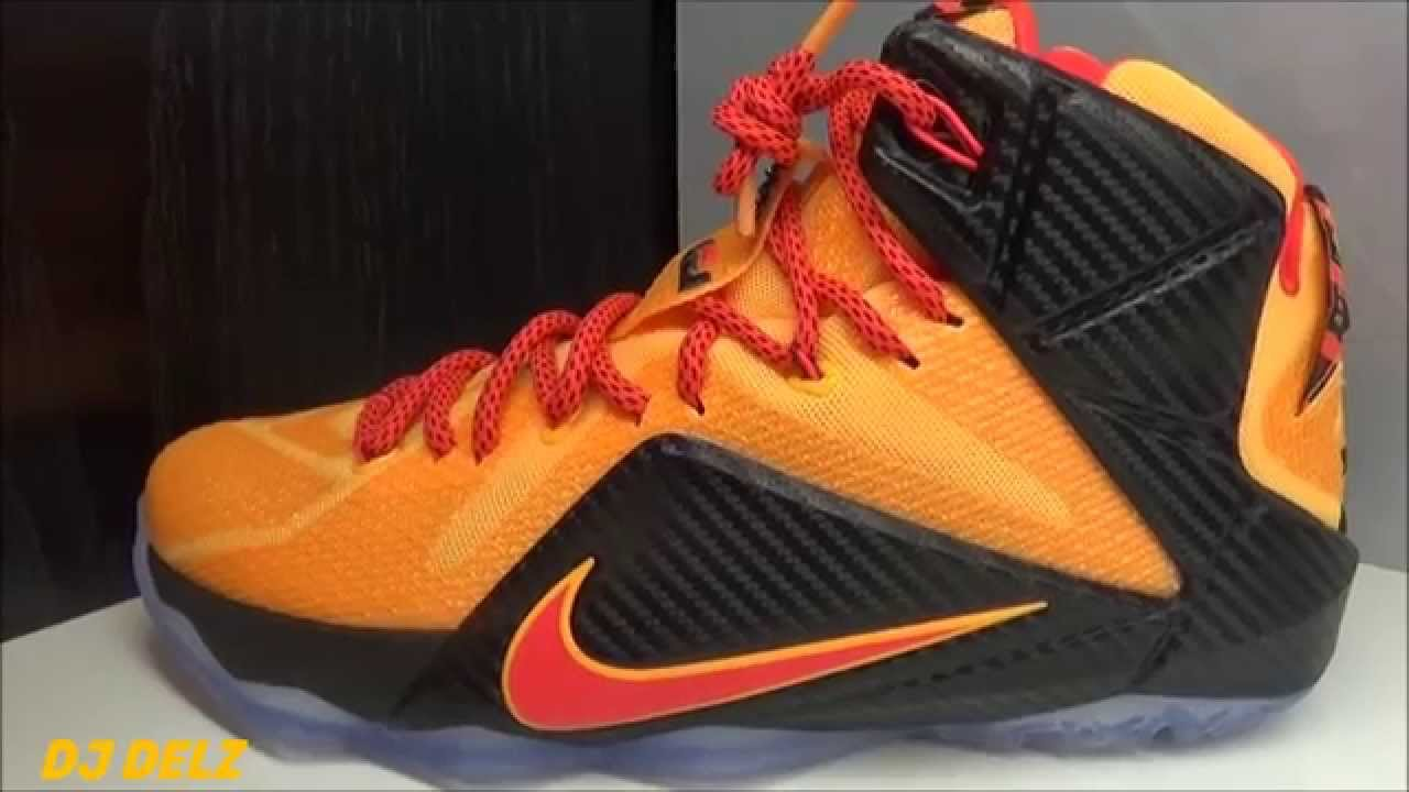new style c4bee 21324 Nike Lebron 12 Witness Cleveland Cavs Sneaker Review