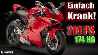 Ducati Panigale V4 - Unfahrbar? Elektronik regelt! | Jens Kuck