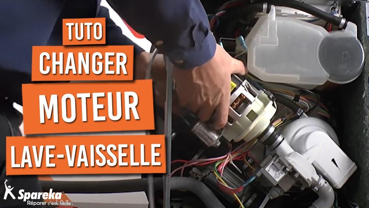 Changer moteur lave vaisselle youtube - Demontage porte four whirlpool ...