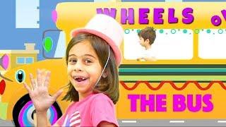 Wheels on the Bus I KLS Music Video for Children