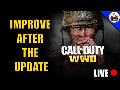 LIVE 2.40 KD - Testing Instant Replay Say Hi & Ask ?s CoD WW2