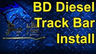 BD Diesel Track Bar Install - 98.5 Dodge 24 Valve 4WD #1032011-F