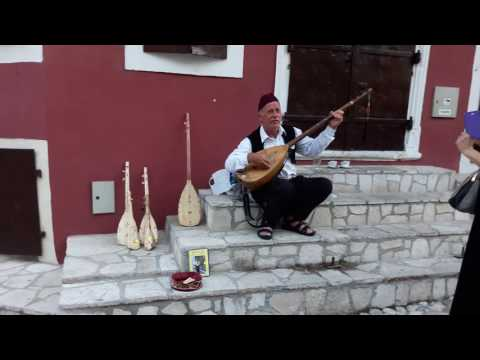 very good Saz player in Mostar Bosnia