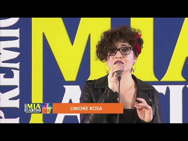 LIMONE ROSA live - Incontri artistici Premio Mia Martini 2019