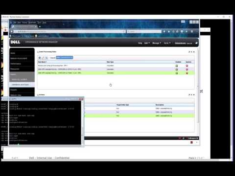 Dell EMC OpenManage Network Manager Tech Talk: Automation - Automatic Port Configuration