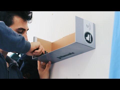 Shoebox Shelf Custom Build DIY