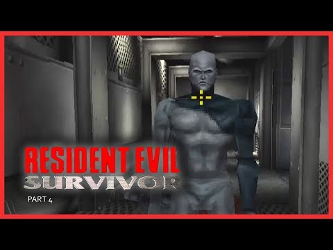 RESIDENT EVIL : SURVIVOR (PSX) - Part 4 / Easy Level | PLAYSTATION | PSX | RETRO GAMING