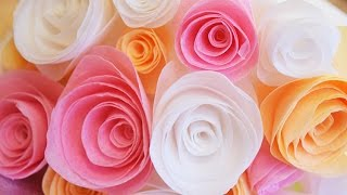 Simple Wafer Paper Flowers