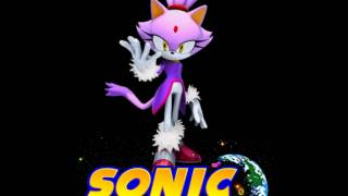 Sonic Universe Character Clips: Blaze the Cat