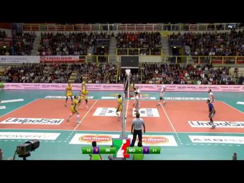 Superlega A1: Highlights Revivre Milano - Azimut Modena